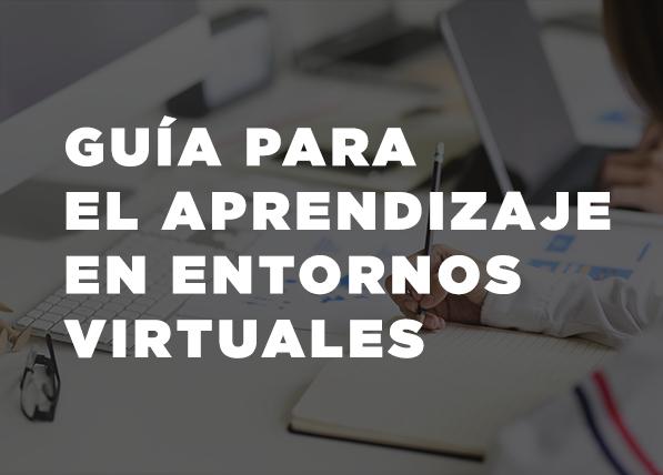 Guía para el aprendizaje en entornos virtuales en brightspace
