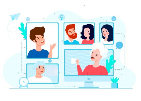 Videollamadas contribuye a la salud mental de adultos mayores